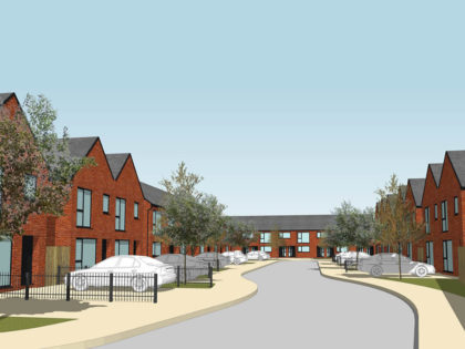 Residential Homes Secured On Strategic Employment Site