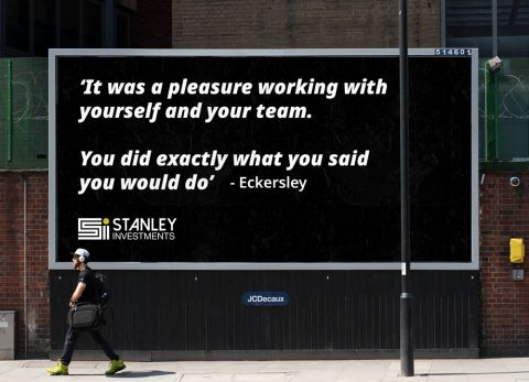 Stanley Investments Billboard